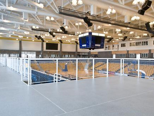 stontec flooring in stadium facility