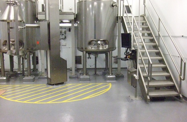 stonclad gs in pharmaceutical processing area